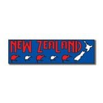Scrapbook Customs - World Collection - New Zealand - Laser Cut - Travel Topper