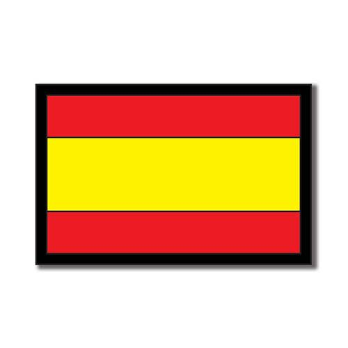 Scrapbook Customs - World Collection - Spain - Laser Cut - Flag