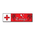 Scrapbook Customs - World Collection - Tonga - Laser Cut - Travel Topper