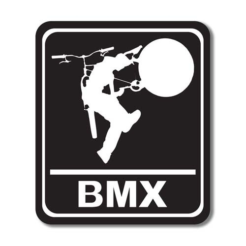 Scrapbook Customs - Sports Collection - Laser Cut - BMX Sign