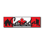 Scrapbook Customs - World Collection - Canada - Laser Cut - Travel Topper