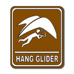 Scrapbook Customs - Sports Collection - Laser Cut - Hang Glider Sign