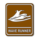 Scrapbook Customs - Sports Collection - Laser Cut - Wave Runner Sign