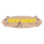 Scrapbook Customs - United States Collection - Florida - Laser Cut - Key West - Word and Background