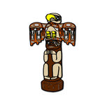 Scrapbook Customs - United States Collection - Alaska - Laser Cut - Totem