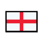 Scrapbook Customs - World Collection - England - Laser Cut - Flag