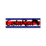Scrapbook Customs - World Collection - Costa Rica - Laser Cut - Travel Topper