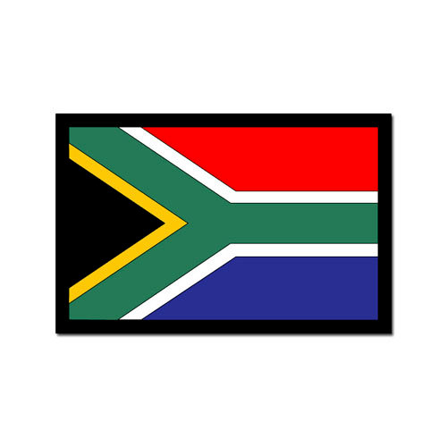 Scrapbook Customs - World Collection - South Africa - Laser Cut - Flag