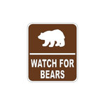 Scrapbook Customs - Sports Collection - Laser Cut - Watch Bears For Sign