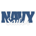 Scrapbook Customs - United States Military Collection - Laser Cut Word - Navy Sailor