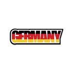Scrapbook Customs - Travel Photo Journaling - Flag Word - Laser Cut - Germany