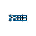 Scrapbook Customs - Travel Photo Journaling - Flag Word - Laser Cut - Greece
