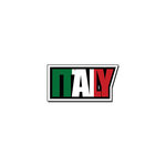 Scrapbook Customs - Travel Photo Journaling - Flag Word - Laser Cut - Italy