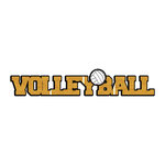 Scrapbook Customs - Dimensional Word - Laser Cut - Volleyball