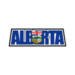 Scrapbook Customs - Flag Word - Laser Cut - Alberta