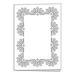 Scrapbook Customs - Card - Flower Border