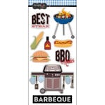 Scrapbook Customs - Cardstock Stickers - Barbeque