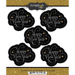 Scrapbook Customs - Cardstock Stickers - Happy New Year Repeating