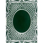 Spellbinders - M-Bossabilities Collection - Embossing Folders - 3 Dimensional - Oval Accent