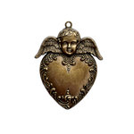 Spellbinders - A Gilded Life Collection - Pendant - Heart Angel