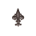 Spellbinders - A Gilded Life Collection - Pendant - Fleur de Flourish - Silver