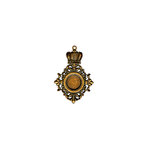 Spellbinders - A Gilded Life Collection - Pendant - Royal Medallion