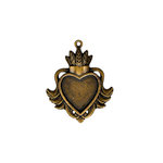 Spellbinders - A Gilded Life Collection - Bezels - Heart - Large - Gold