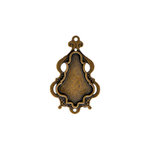 Spellbinders - A Gilded Life Collection - Bezels - Chandelier - Large - Gold