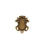 Spellbinders - A Gilded Life Collection - Bezels - Shield - Small