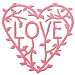 Spellbinders - Shapeabilities Collection - InSpire Die - Love Vine