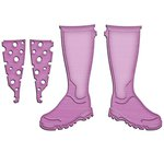 Spellbinders - Shapeabilities Collection - InSpire Die - Wellies