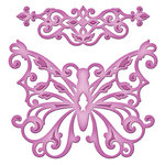 Spellbinders - Shapeabilities Collection - D-Lites Die - Outrageous Butterfly
