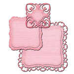 Spellbinders - Shapeabilities Collection - D-Lites Die - Fancy Label Tags Two