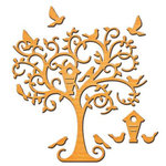 Spellbinders - Shapeabilities Collection - D-Lites Die - Delightful Tree