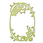 Spellbinders - Shapeabilities Collection - D-Lites Die - Framed Floral