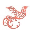 Spellbinders - Holiday Collection - Christmas - D-Lites Die - Dove of Peace