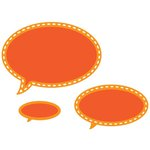 Spellbinders - Trendy Collection - D-Lites Die - Conversation Bubble Three