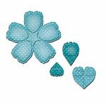 Spellbinders - Shapeabilities Collection - D-Lites Die - Crafty Flower Four
