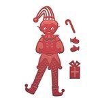 Spellbinders - Holiday Collection - D-Lites Die - Elf - Boy