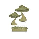 Spellbinders - Shapeabilities Collection - D-Lites Die - Mushrooms