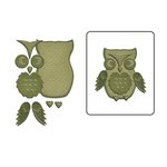 Spellbinders - Shapeabilities Collection - D-Lites Die - Woodland Owl