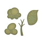 Spellbinders - Shapeabilities Collection - D-Lites Die - Trees