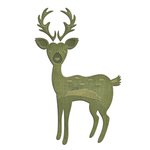 Spellbinders - Shapeabilities Collection - D-Lites Die - Woodland Deer