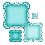 Spellbinders - Nestabilities Collection - Die - Deco Elements - Luscious Labels One