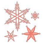 Spellbinders - Holiday Collection - Shapeabilities Die - Snowflake Bliss