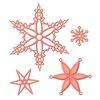 Spellbinders - Holiday Collection - Shapeabilities Die - Snowflake Bliss