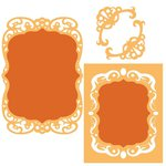 Spellbinders - Classic Collection - Nestabilities Die - Labels 39 Decorative Accents