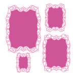 Spellbinders - Classic Collection - Nestabilities Die - Labels 40 Decorative Elements