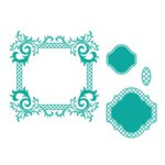 Spellbinders - Classic Collection - Nestabilities Die - Labels 41 Decorative Accents
