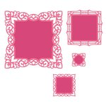 Spellbinders - Classic Collection - Nestabilities Die - Labels 42 Decorative Accents